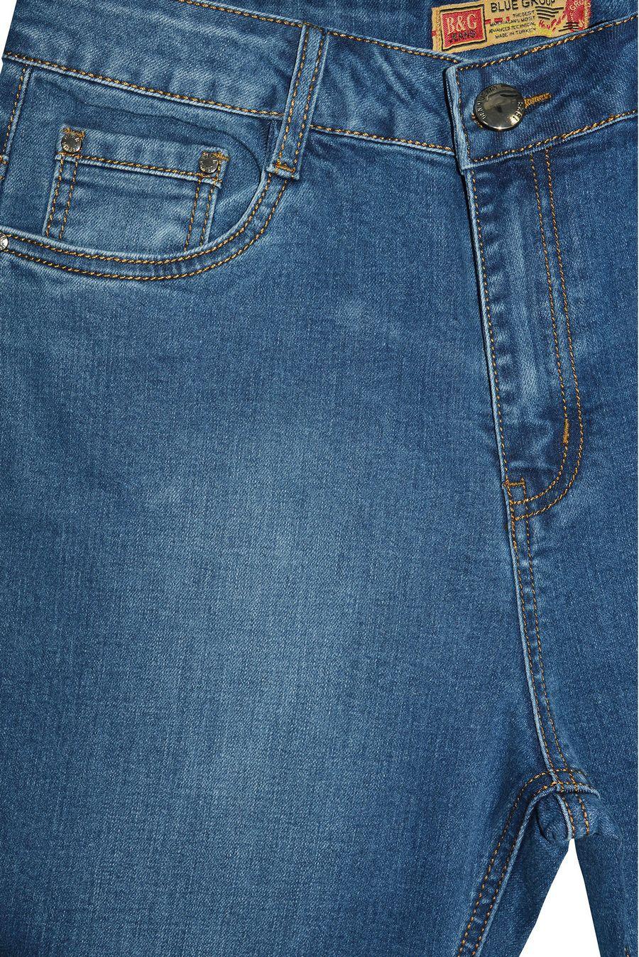 Джинсы женские Blue Group SF084 - фото 3
