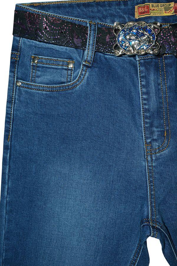 Джинсы женские Blue Group F199 - фото 3