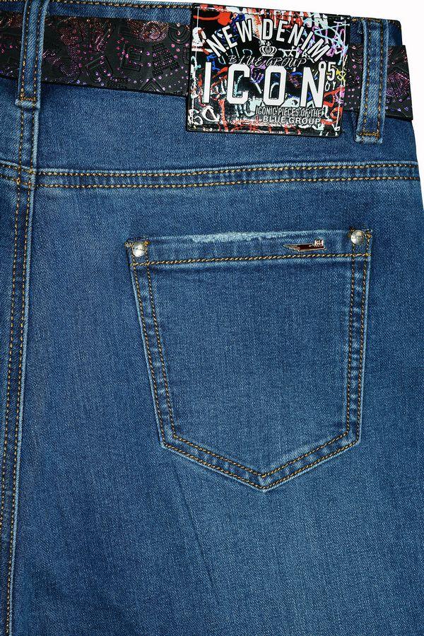 Джинсы женские Blue Group F199 - фото 4