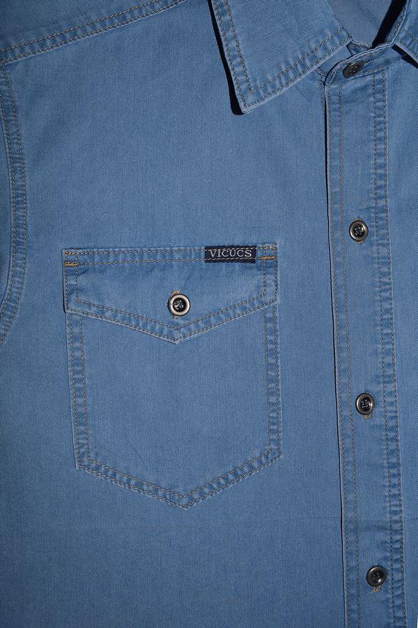 Рубашка мужская Vicucs 728E/CT-321-20 (S-2XL) - фото 3