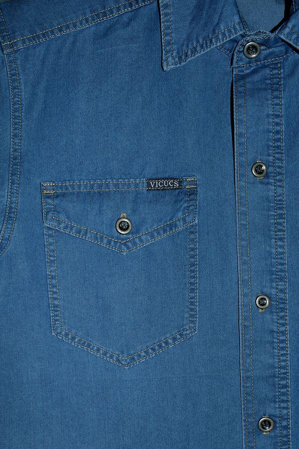 Рубашка мужская Vicucs 728E/CT-321-19 (S-2XL) - фото 3