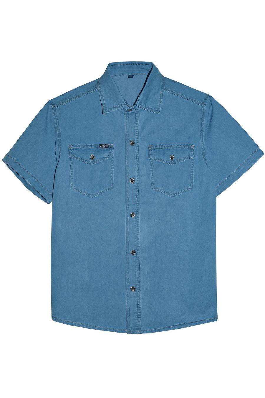Рубашка мужская Vicucs 728E/CT-321-21 (XL-5XL) - фото 1