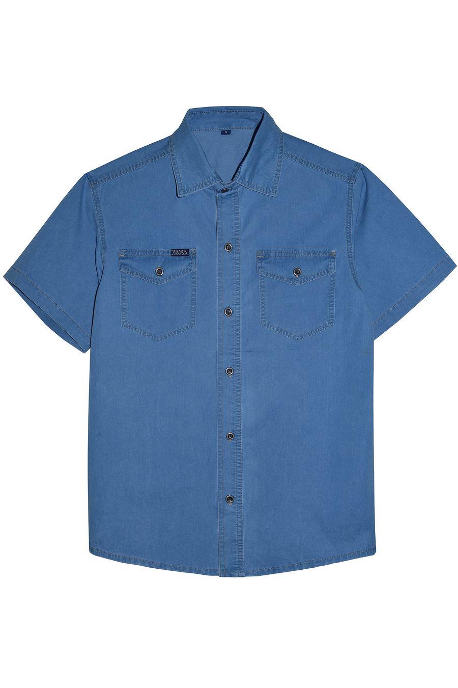Рубашка мужская Vicucs 728E/CT-321-20 (XL-5XL) - фото 1