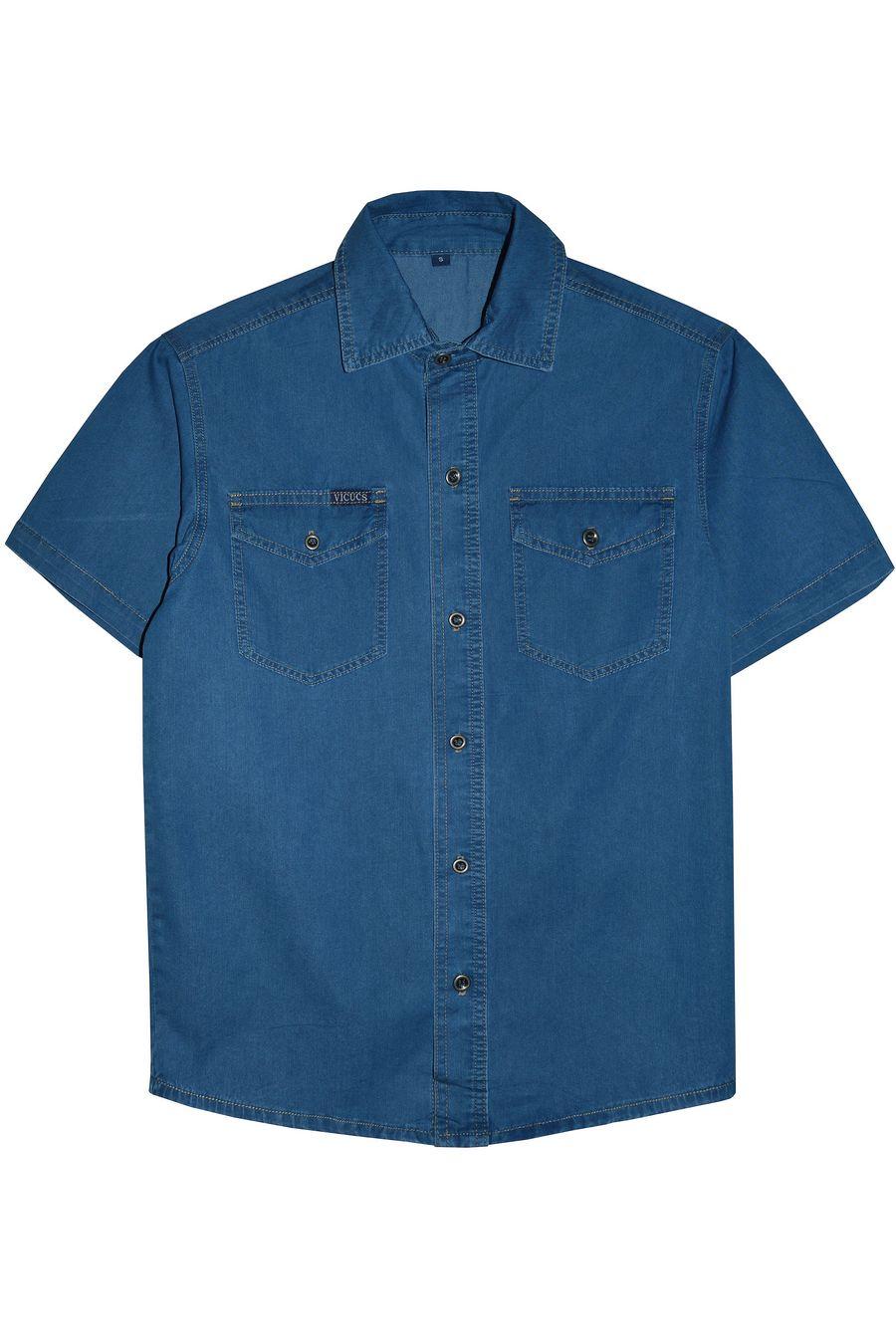Рубашка мужская Vicucs 728E/CT-321-19 (XL-5XL) - фото 1