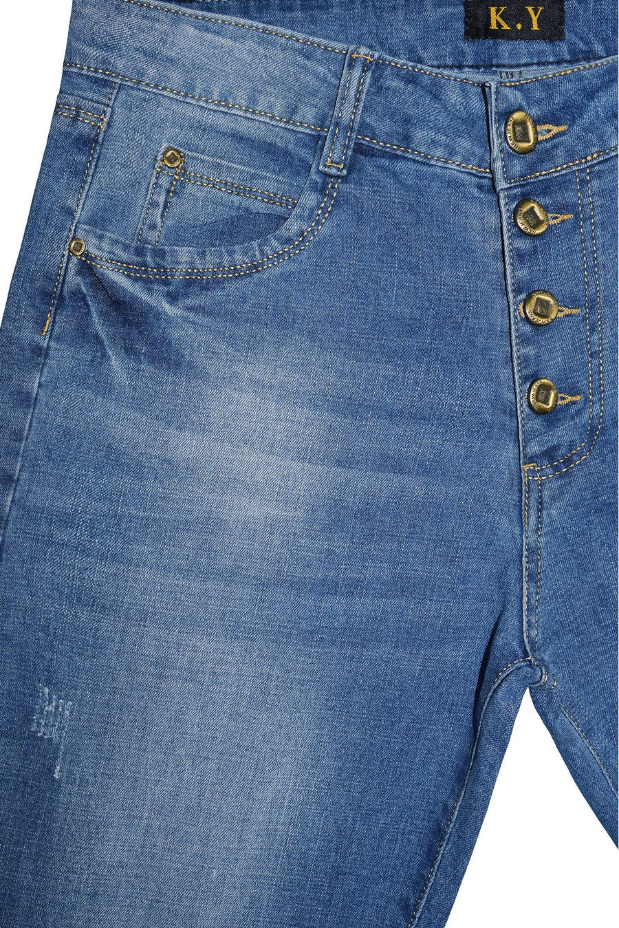 Джинсы женские K.Y Jeans L478 - фото 3