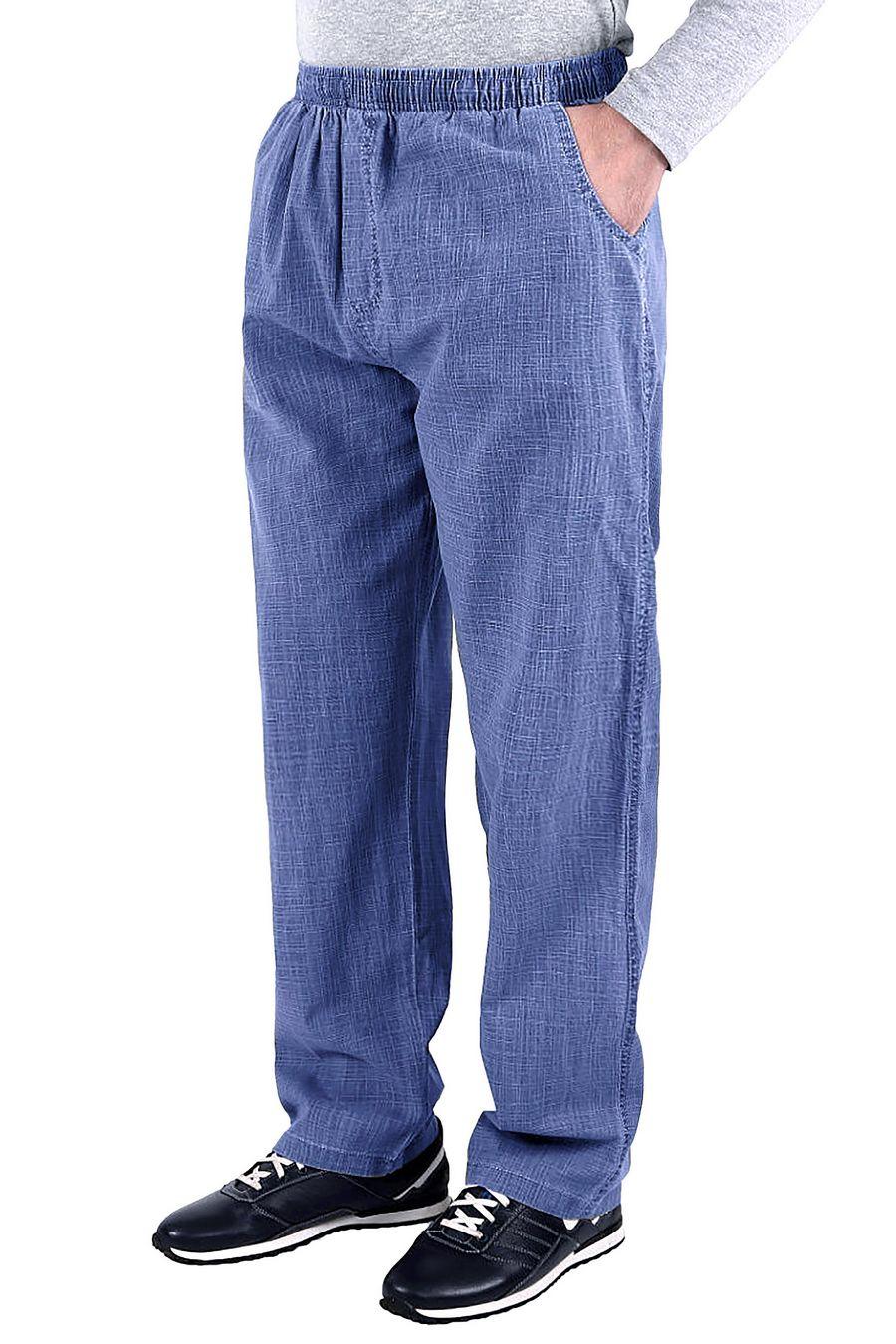 Брюки мужские JJX C6 синие - фото 1