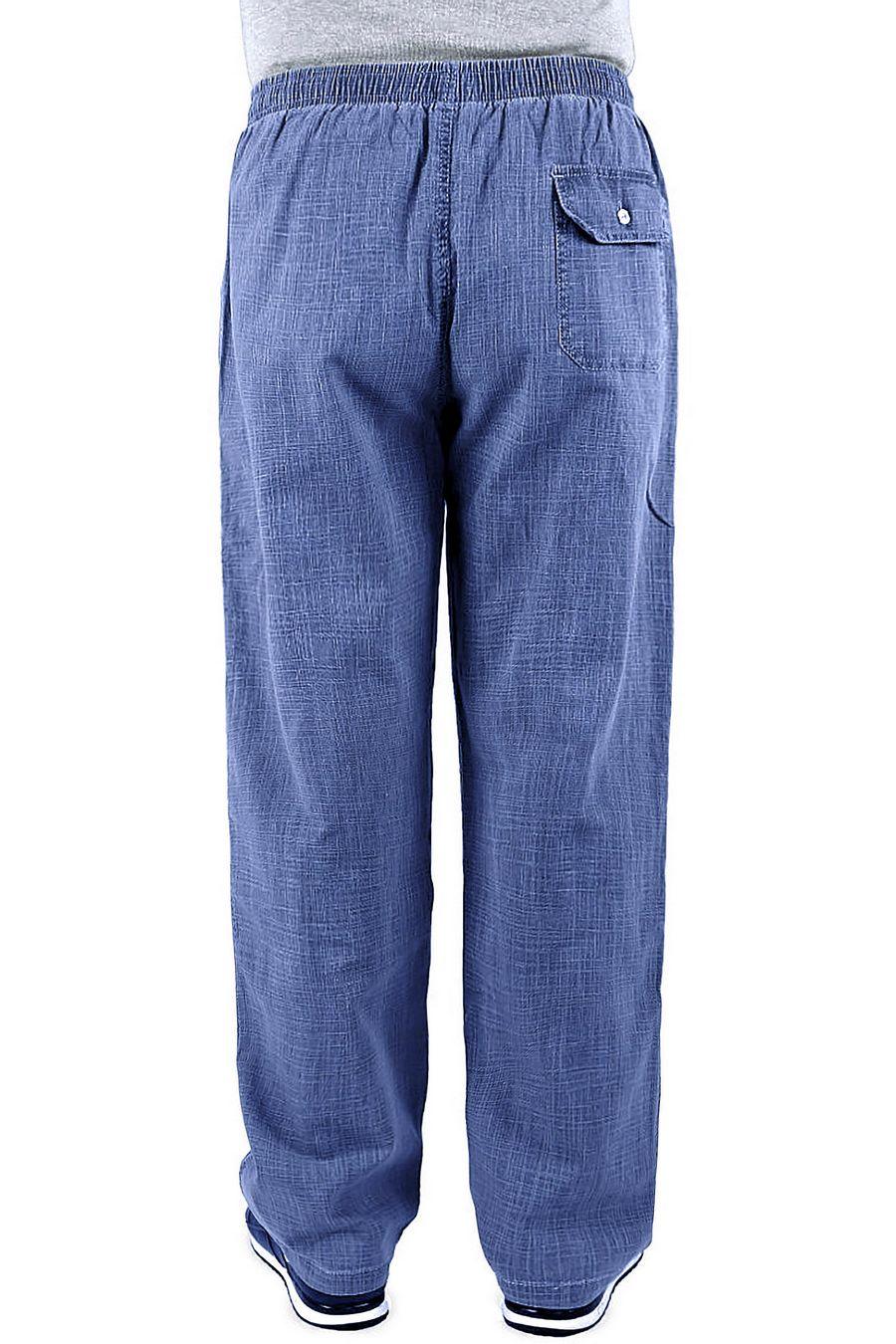 Брюки мужские JJX C6 синие - фото 2