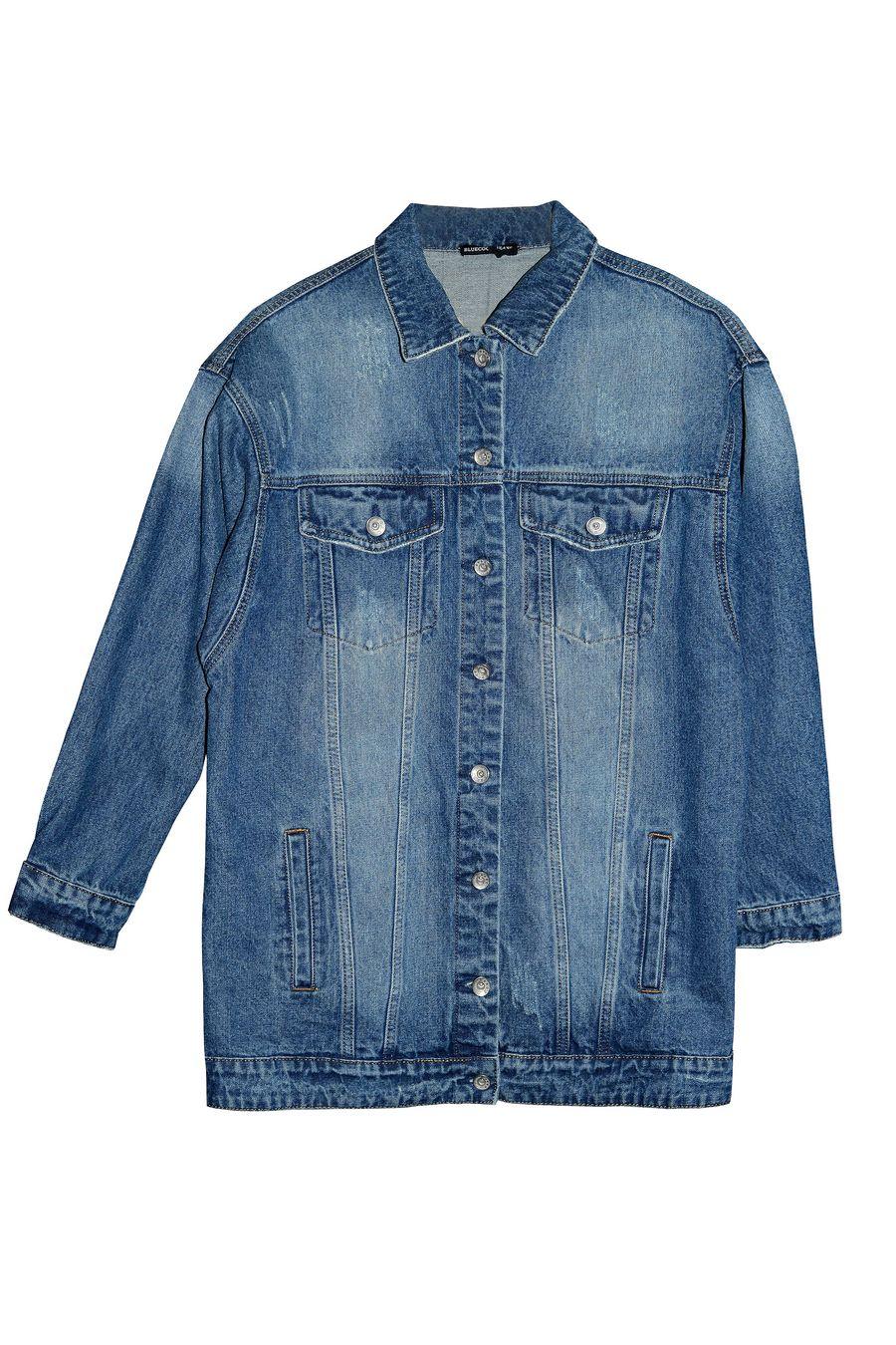 Пиджак женский (джинсовка) Blue Coco 118 - фото 1