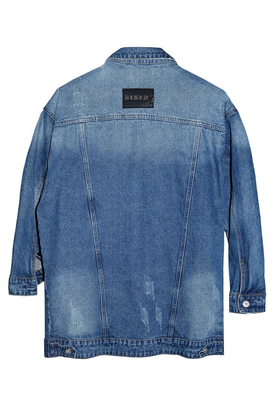Пиджак женский (джинсовка) Blue Coco 118 - фото 2