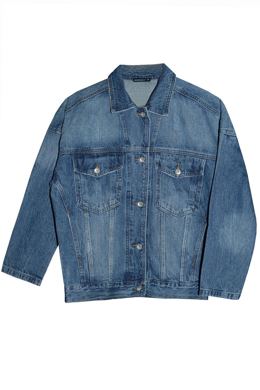 Пиджак женский (джинсовка) Blue Coco 119 - фото 1