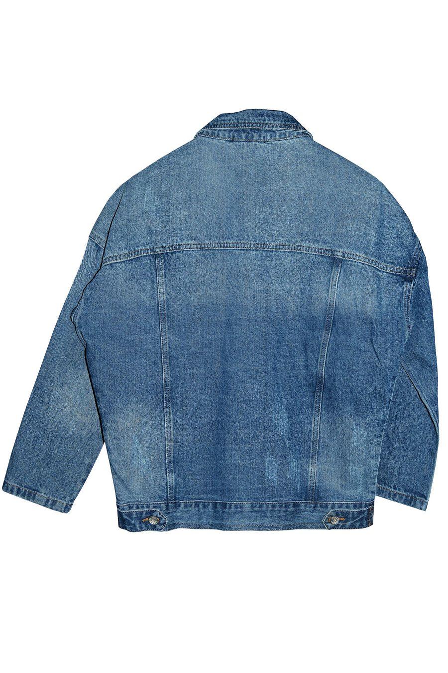 Пиджак женский (джинсовка) Blue Coco 119 - фото 2