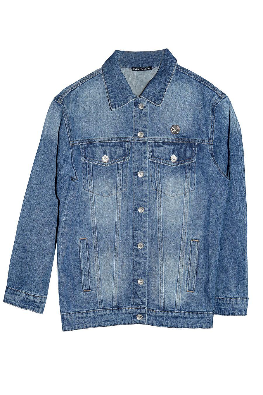 Пиджак женский (джинсовка) Blue Coco 121 - фото 1