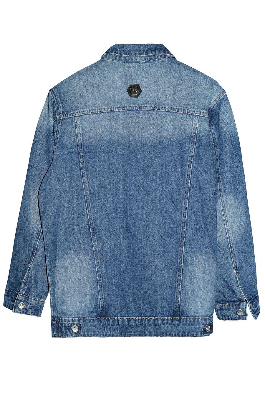 Пиджак женский (джинсовка) Blue Coco 121 - фото 2
