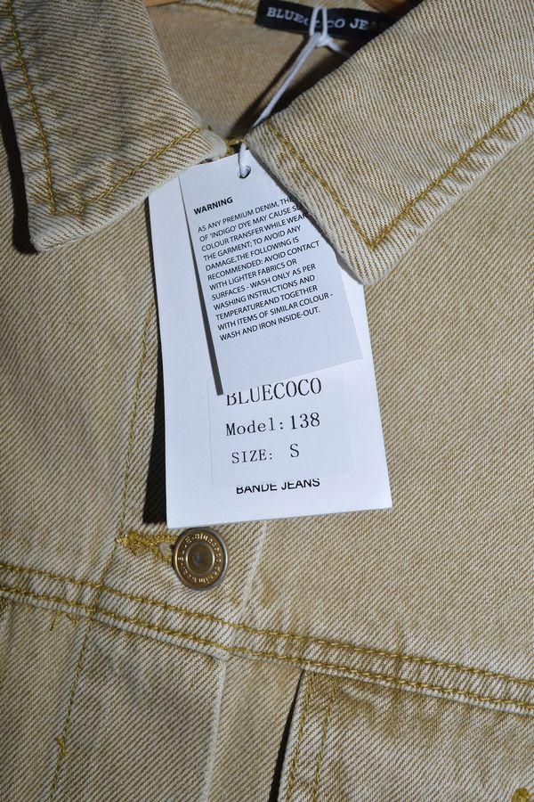 Пиджак женский (джинсовка) Blue Coco 138 - фото 3