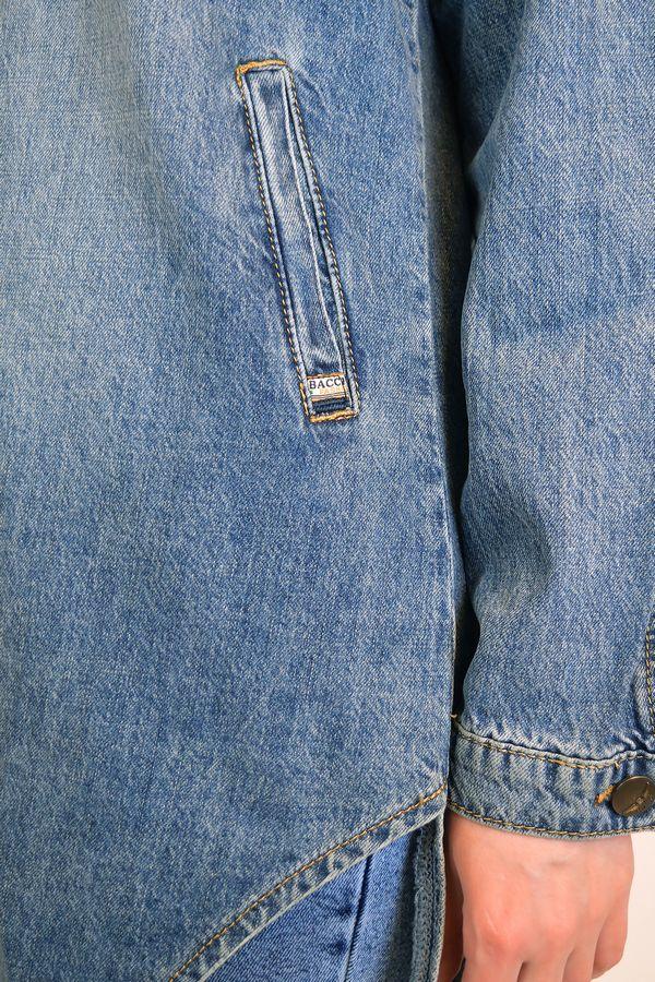 Рубашка женская Baccino 6081 джинсовая - фото 4