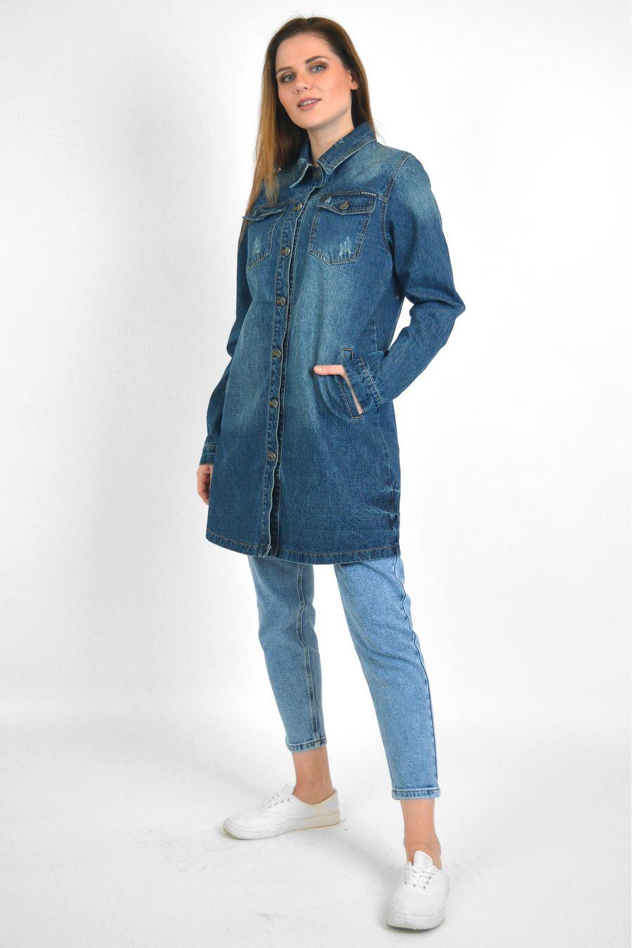 Рубашка женская Baccino 6099 джинсовая - фото 1