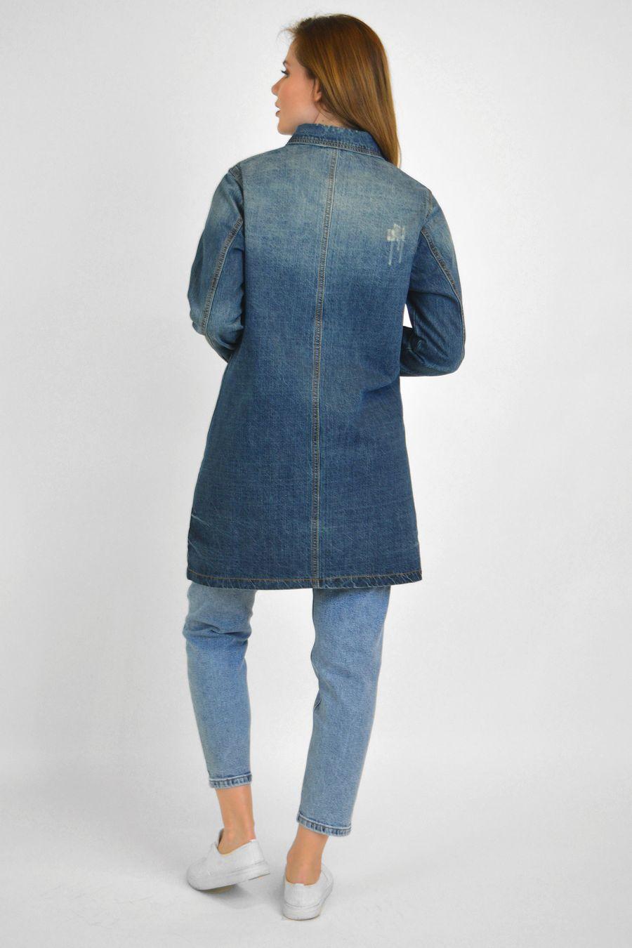 Рубашка женская Baccino 6099 джинсовая - фото 4