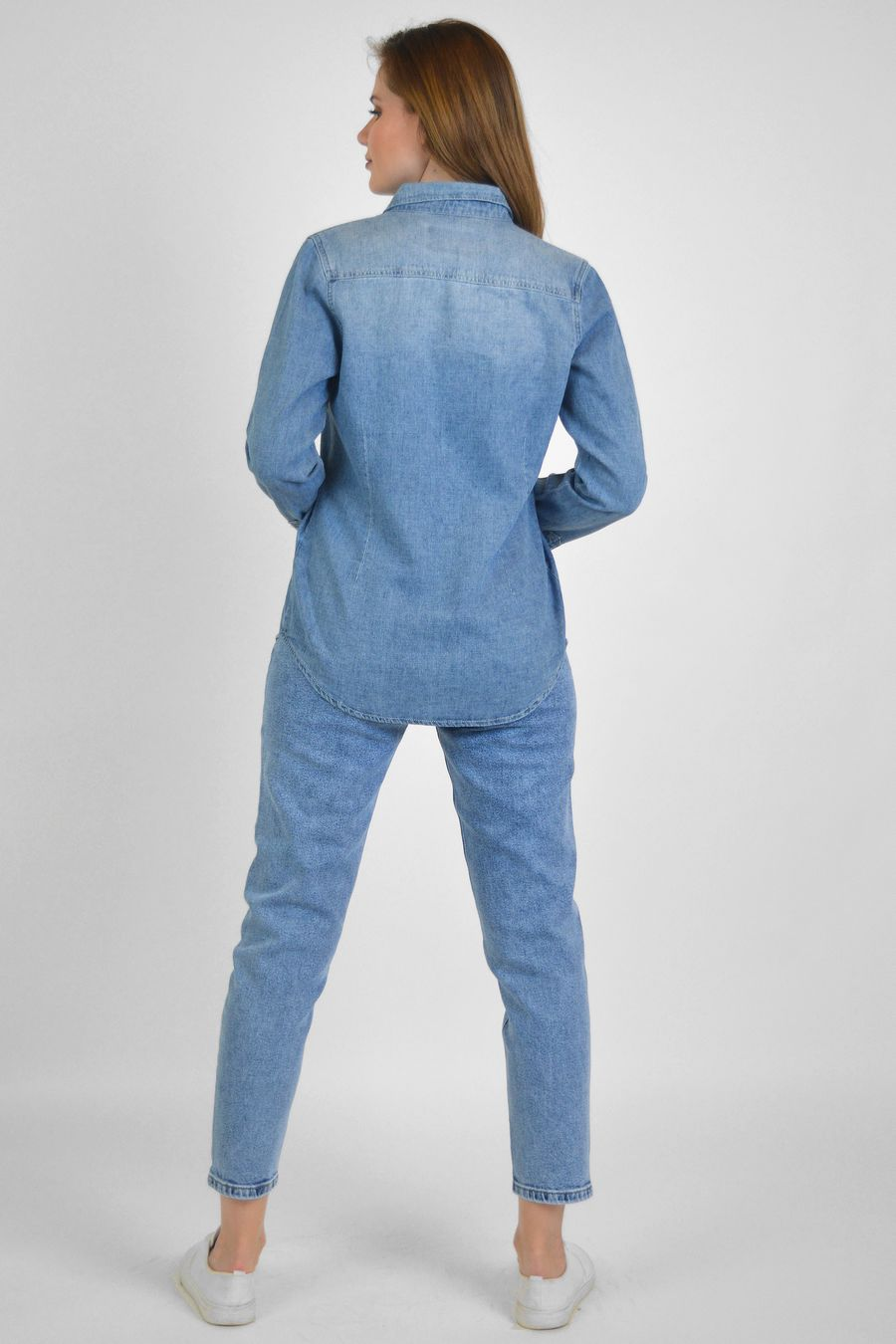 Рубашка женская Baccino 9662 джинсовая - фото 2