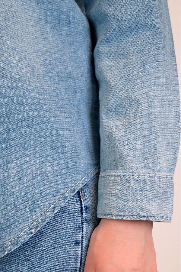Рубашка женская Baccino 9677 джинсовая - фото 6