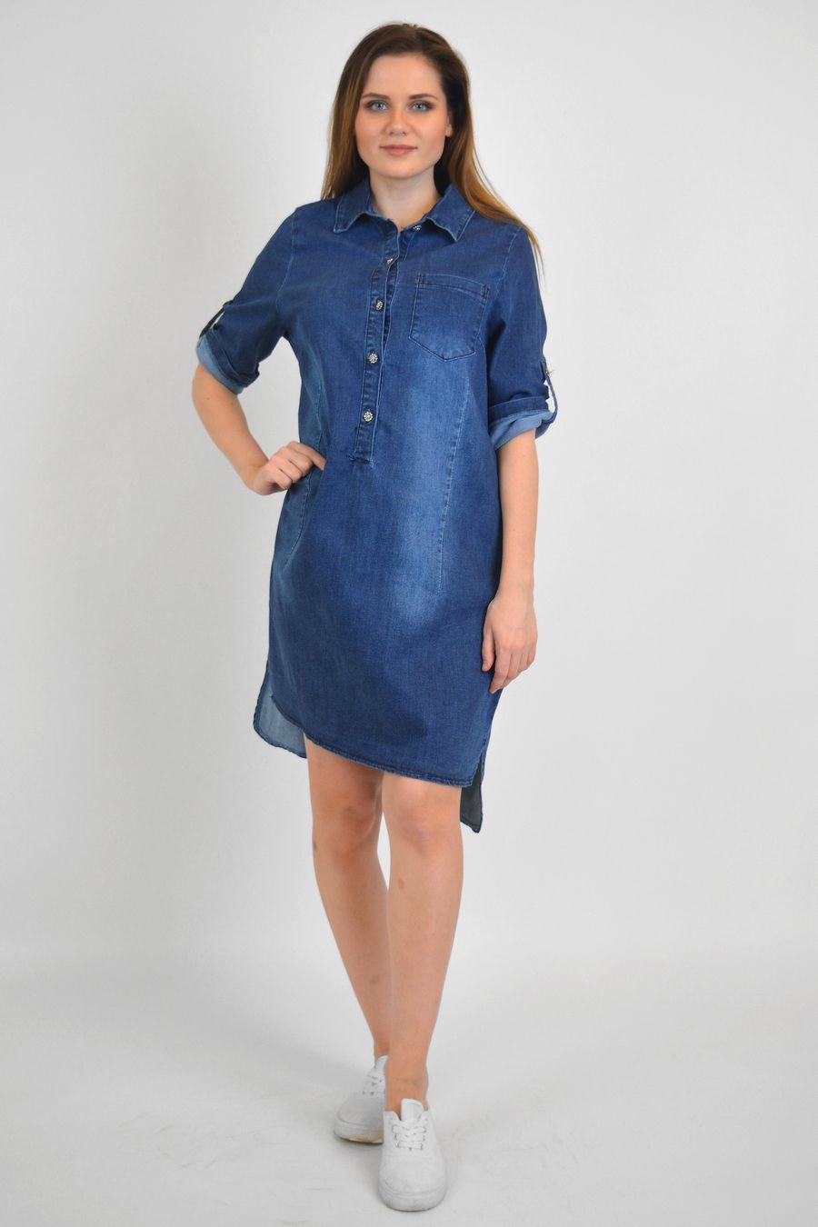 Платье женское Baccino M006 джинсовое - фото 1