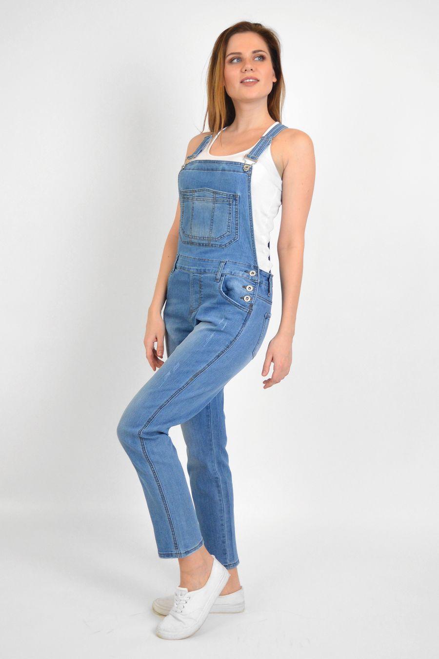 Комбинезон женский Baccino 3040 джинсовый - фото 3