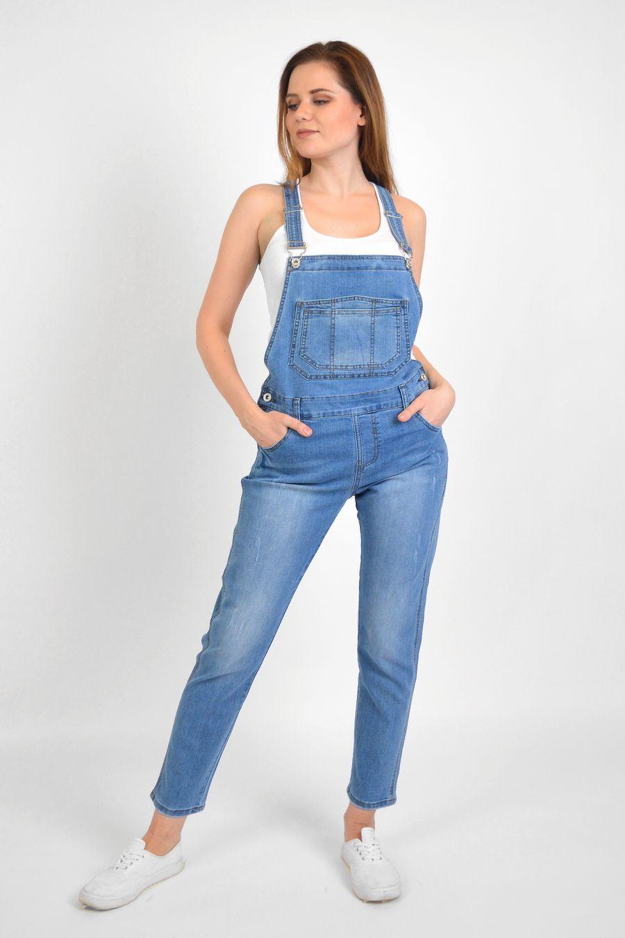 Комбинезон женский Baccino 3041 джинсовый - фото 3