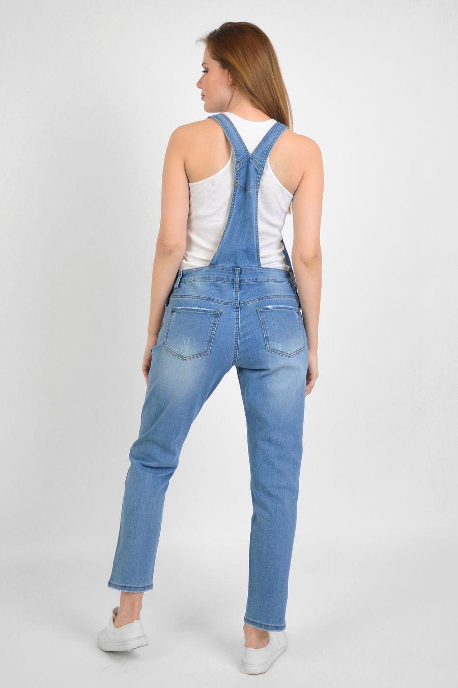 Комбинезон женский Baccino 3041 джинсовый - фото 4