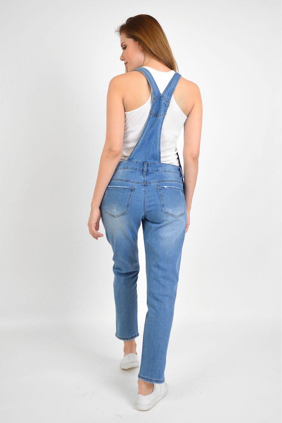 Комбинезон женский Baccino 3041 джинсовый - фото 5