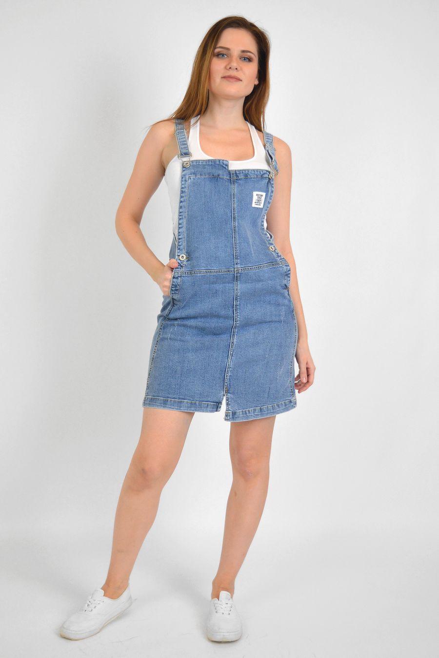 Комбинезон женский Baccino 3060 джинсовый - фото 1