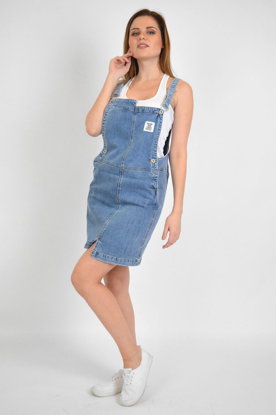 Комбинезон женский Baccino 3060 джинсовый - фото 2