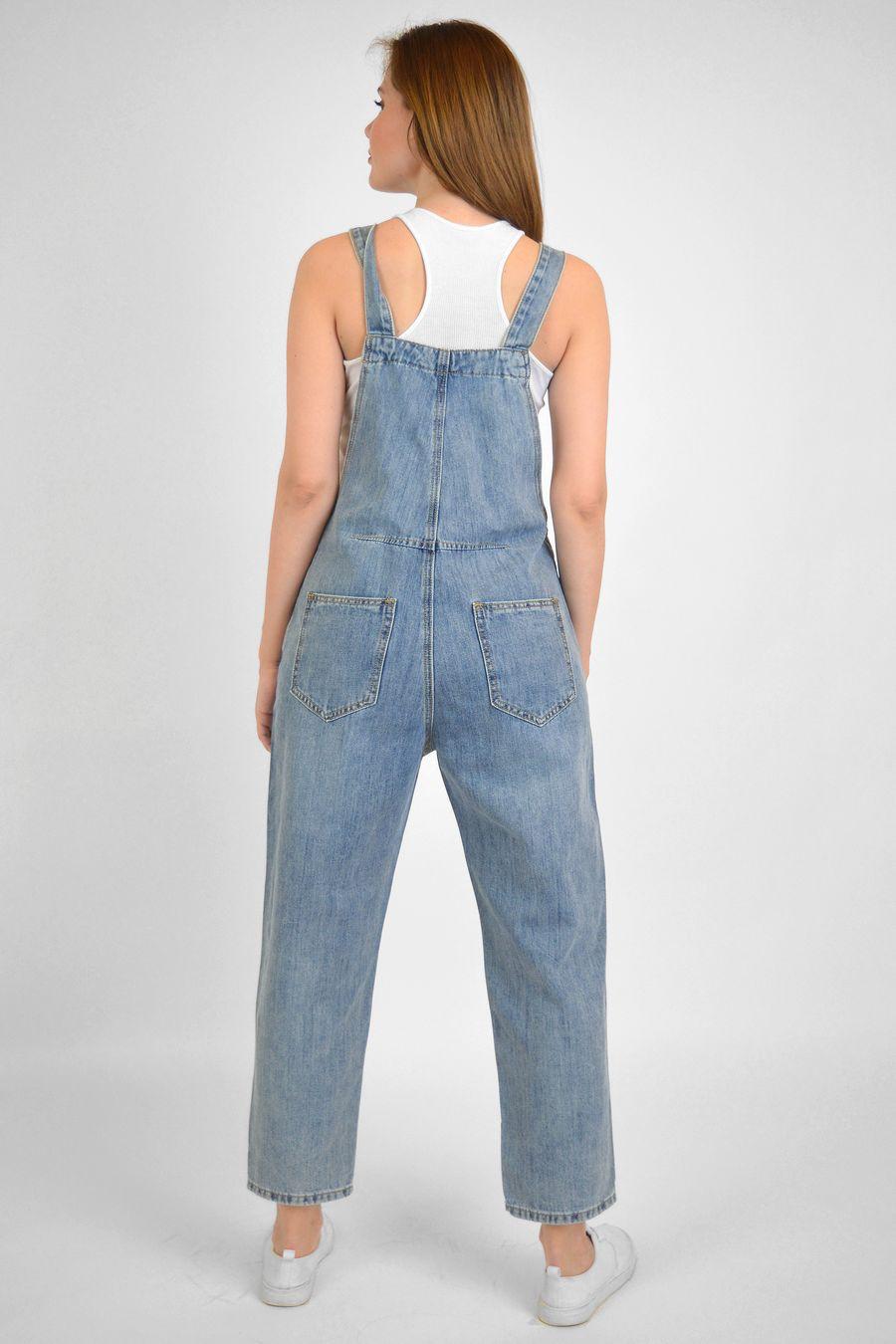 Комбинезон женский Baccino C9821 джинсовый - фото 2