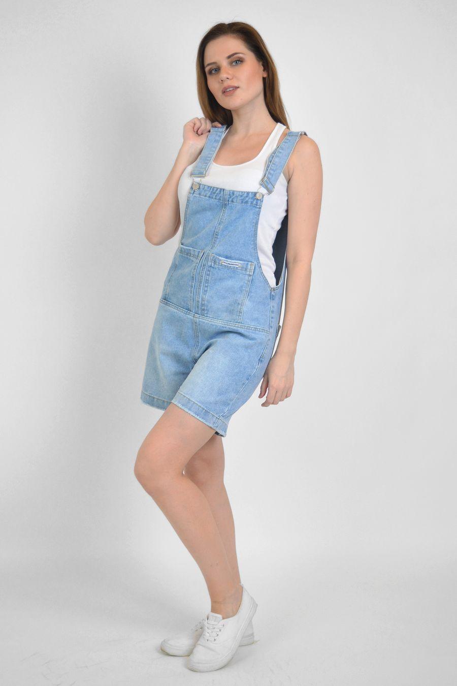 Комбинезон женский Baccino C9865 джинсовый - фото 1
