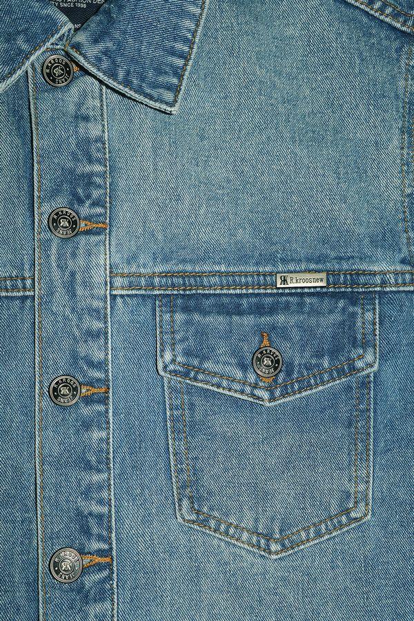 Жилет мужской (джинсовка) R.KROOS 1023 - фото 3