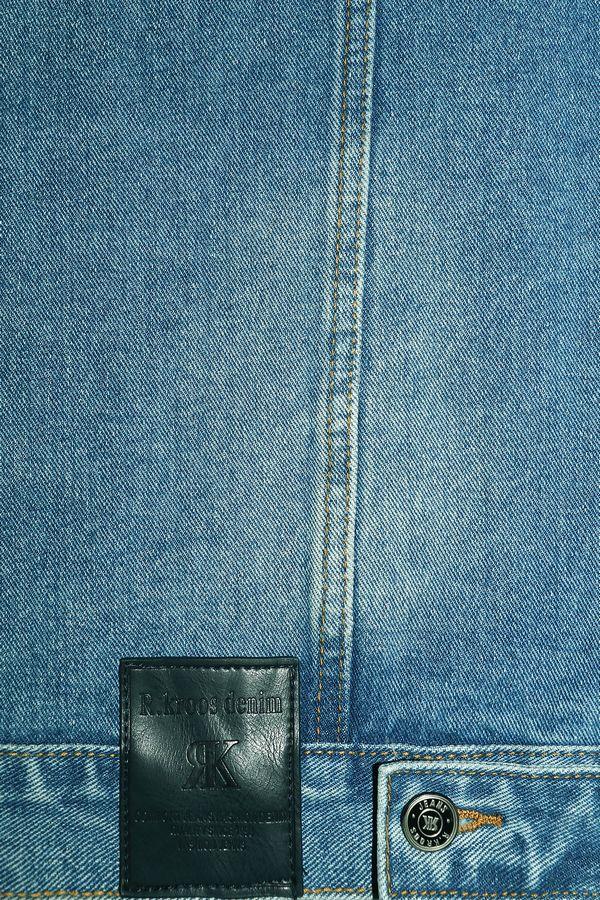 Жилет мужской (джинсовка) R.KROOS 1023 - фото 4