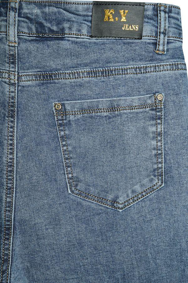 Джинсы женские K.Y Jeans LC612 - фото 4
