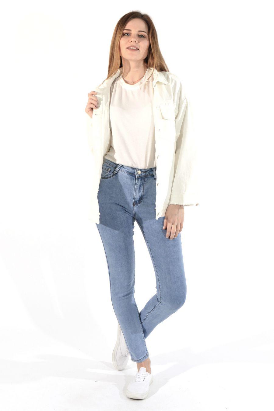 Жакет женский (джинсовка) LRZBS 955 - фото 3