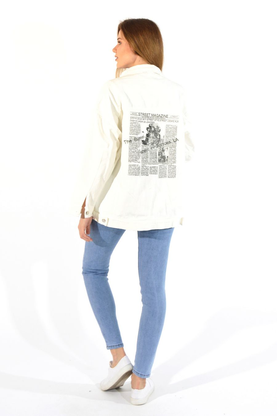 Жакет женский (джинсовка) LRZBS 955 - фото 2