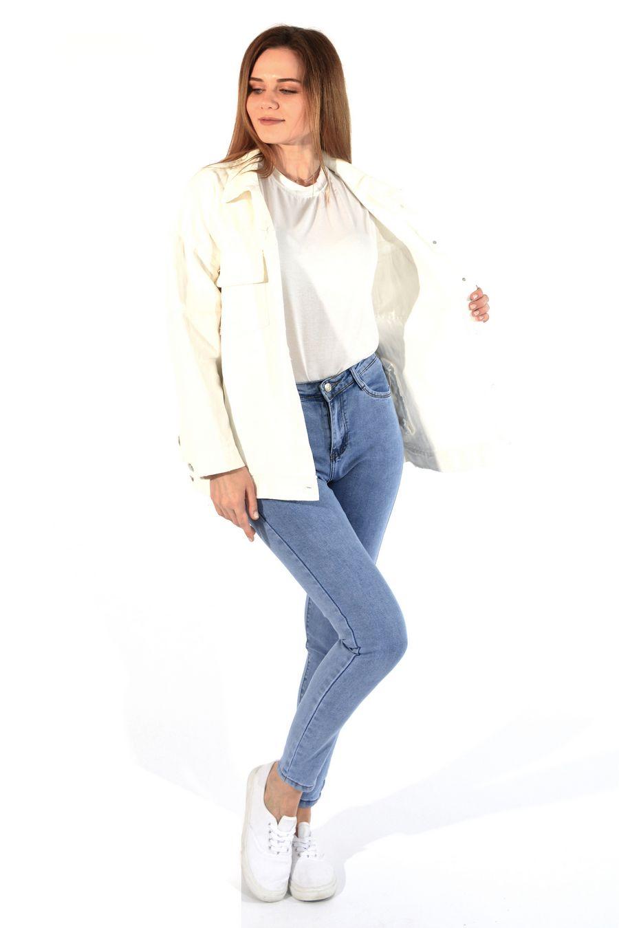 Жакет женский (джинсовка) LRZBS 955 - фото 4
