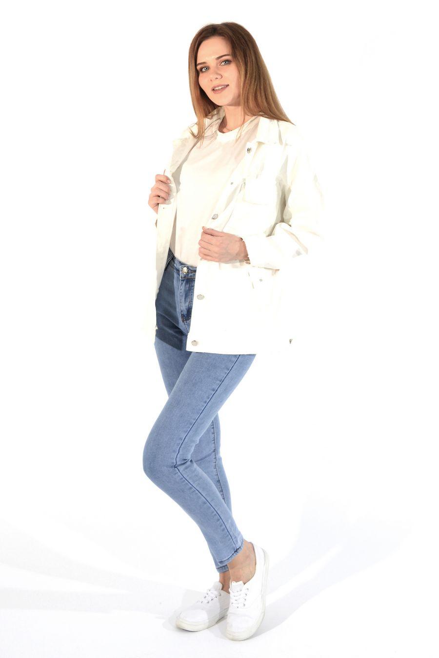 Жакет женский (джинсовка) LRZBS 955 - фото 5