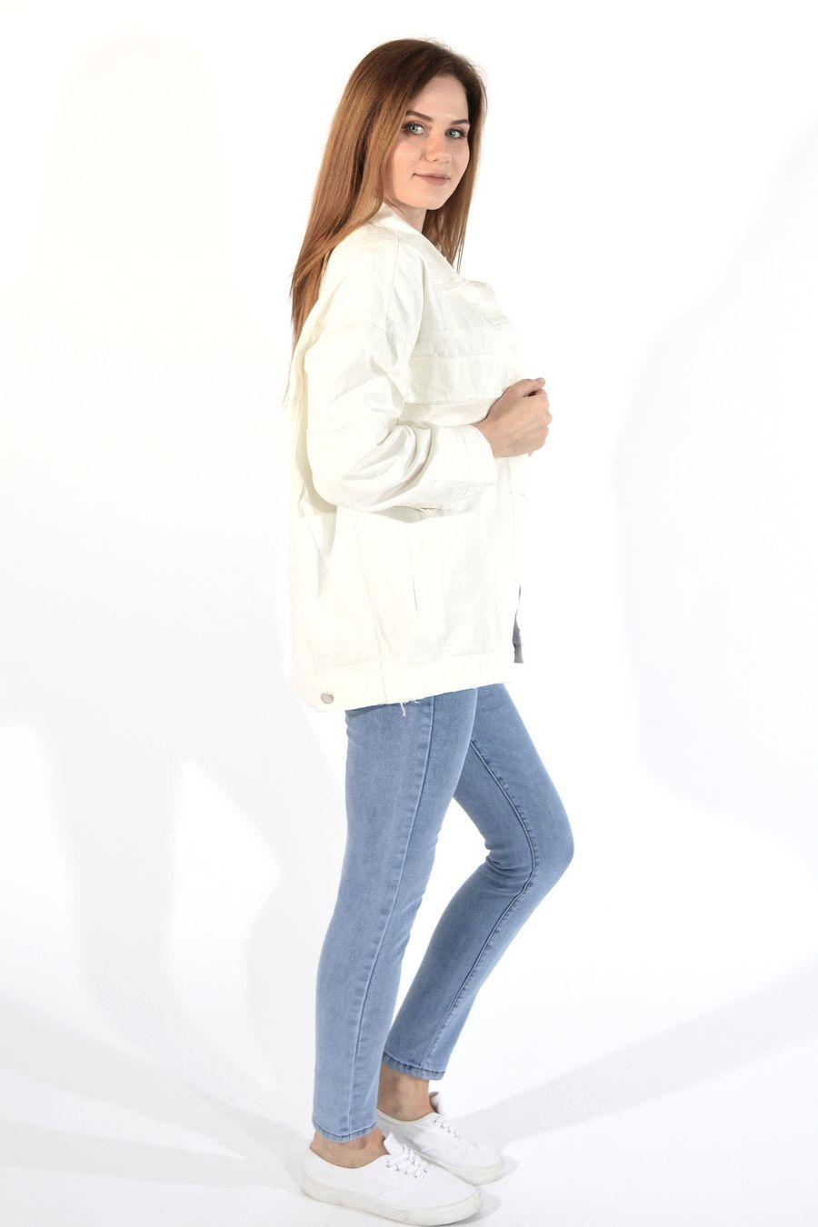 Жакет женский (джинсовка) LRZBS 955 - фото 6