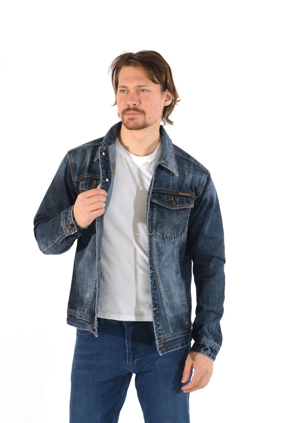 Пиджак мужской (джинсовка) Regass 87211/07 - фото 2