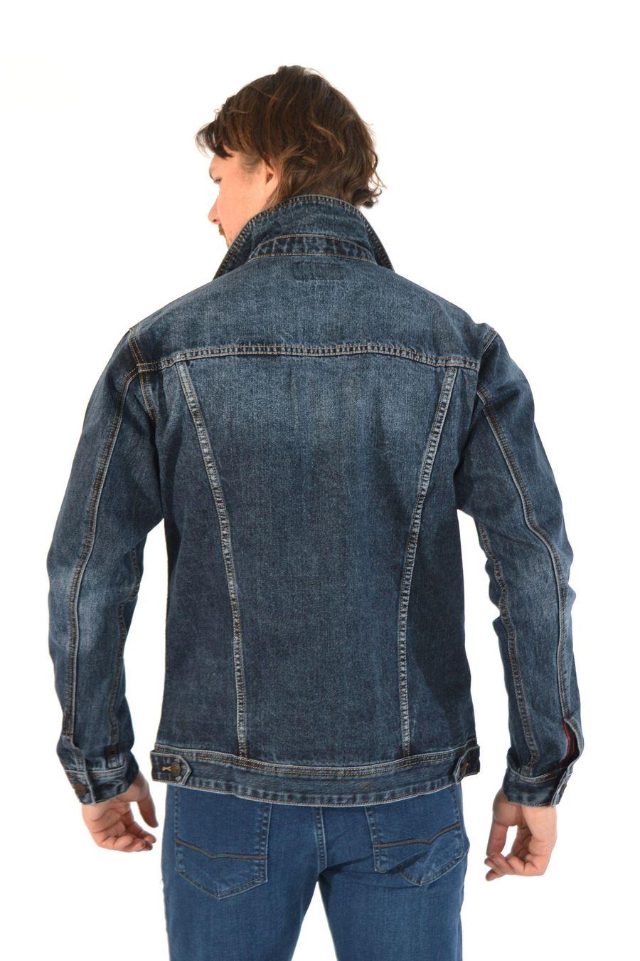 Пиджак мужской (джинсовка) Regass 87211/07 - фото 6