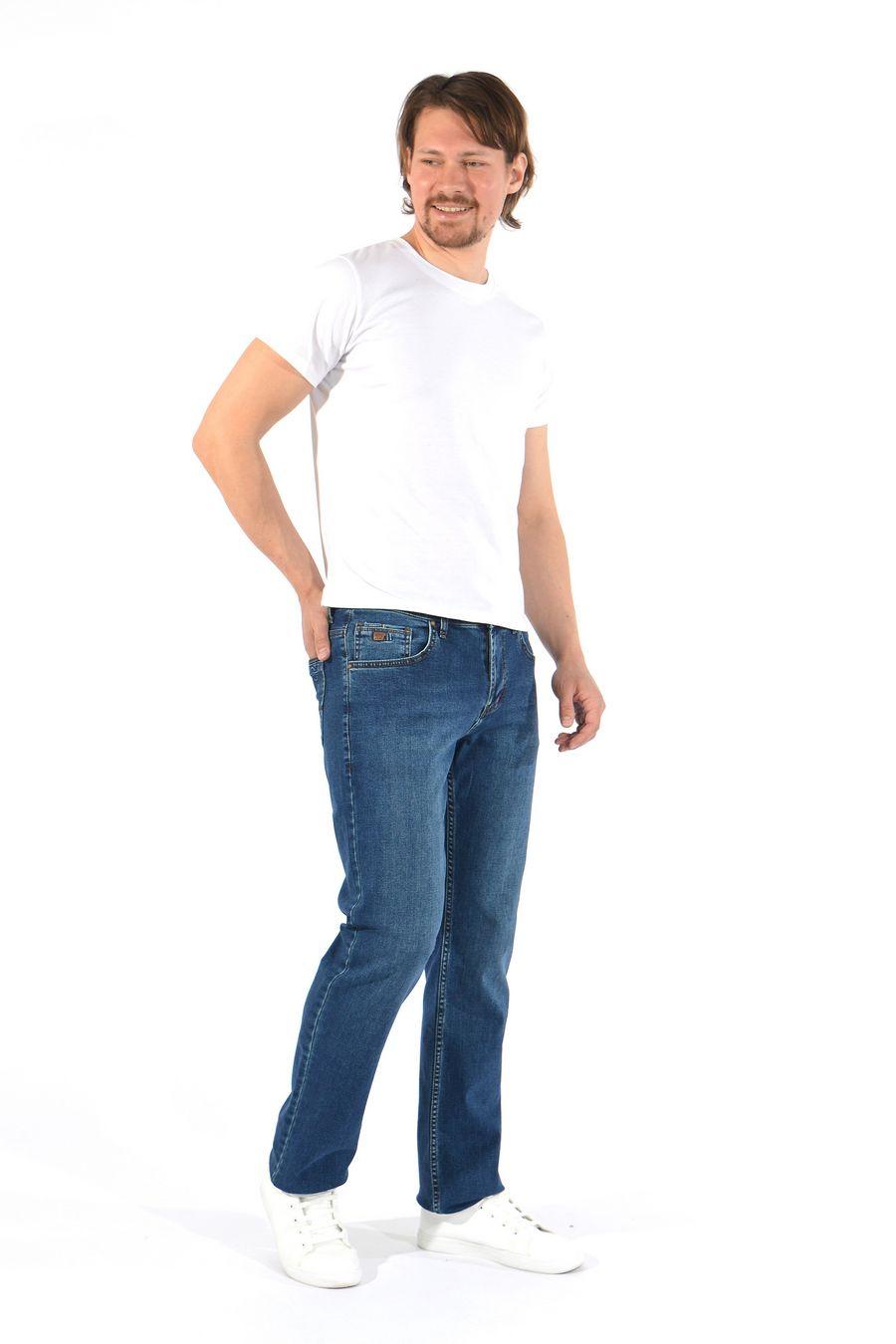 Джинсы мужские MAC Person 2940-12377 Blue Green L36 - фото 3
