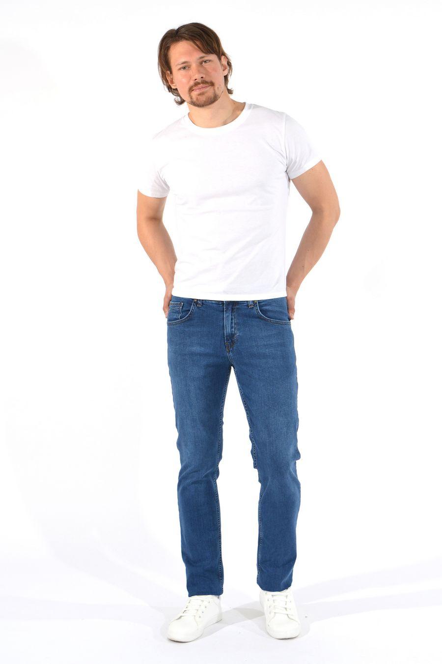Джинсы мужские MAC Person 2917-12288 Mavi L34 - фото 2