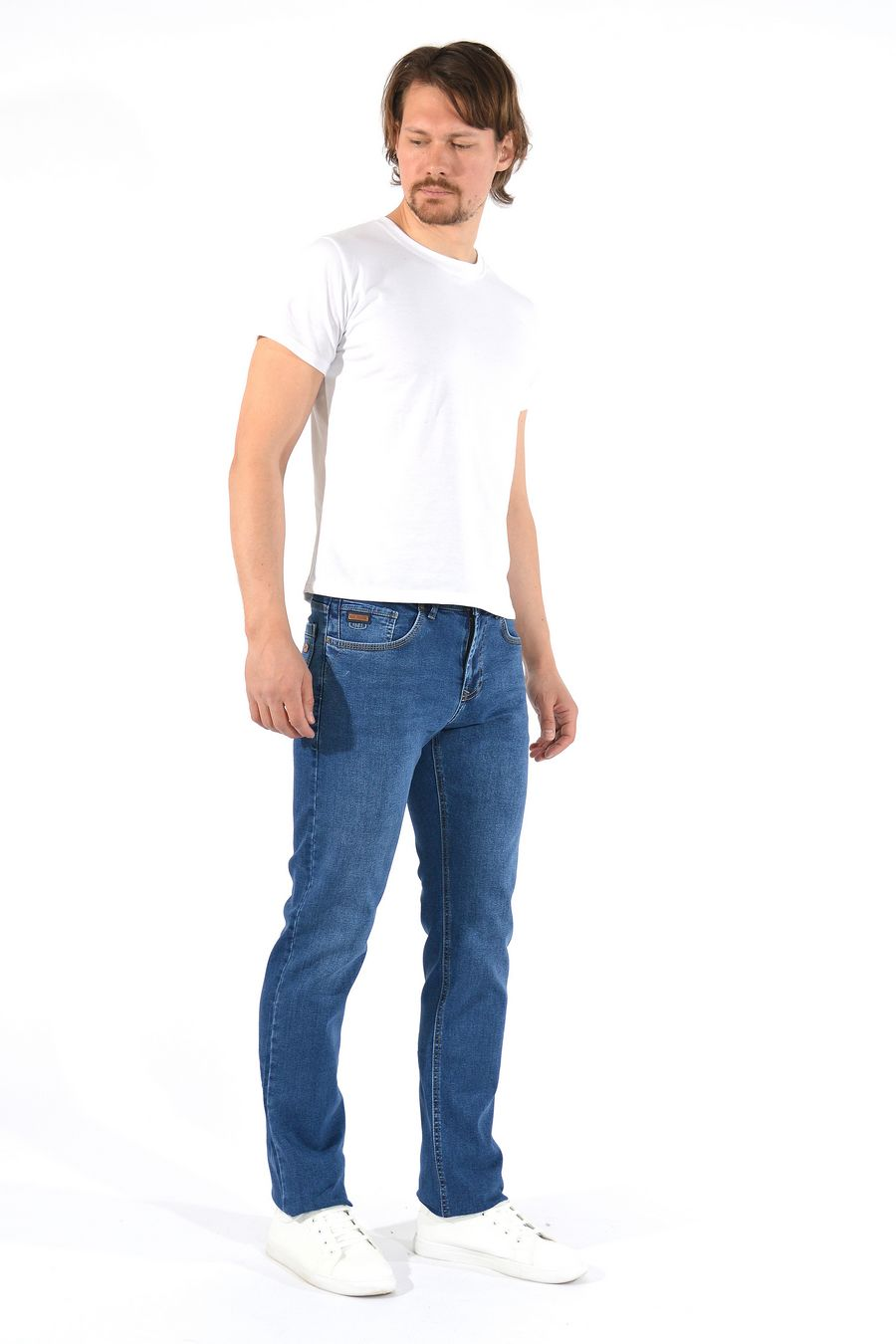 Джинсы мужские MAC Person 2903-12238 Mavi L38 - фото 2
