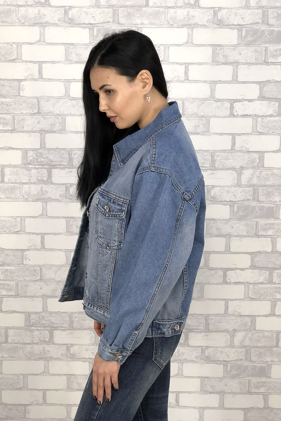 Жакет женский (джинсовка) LRZBS 6601 - фото 5