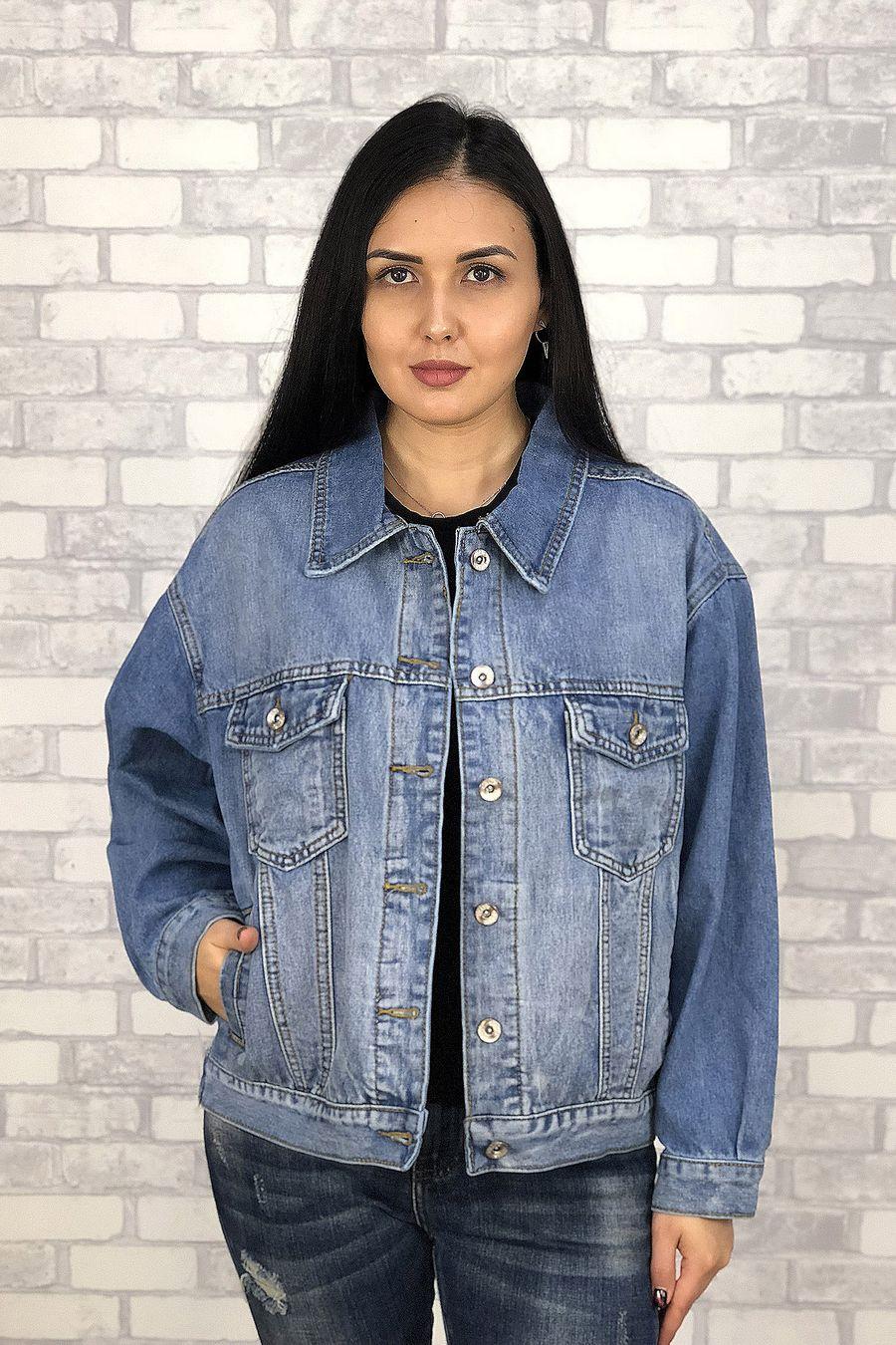 Жакет женский (джинсовка) LRZBS 6601 - фото 2