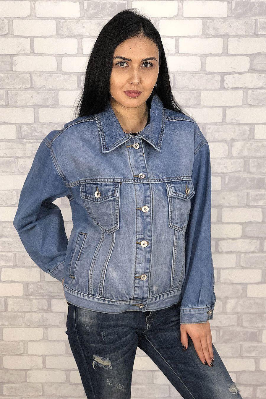 Жакет женский (джинсовка) LRZBS 6601 - фото 3