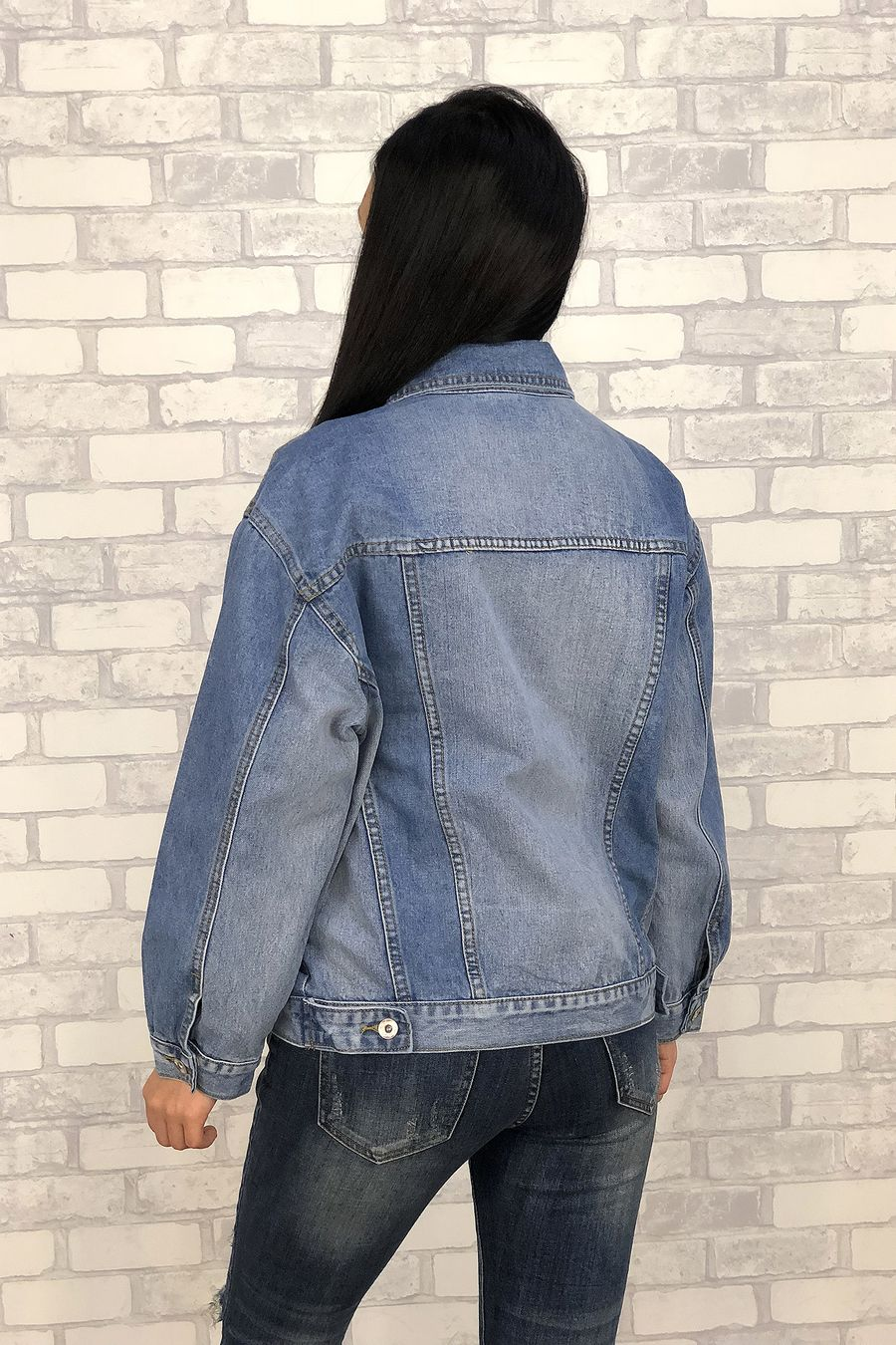 Жакет женский (джинсовка) LRZBS 6601 - фото 4