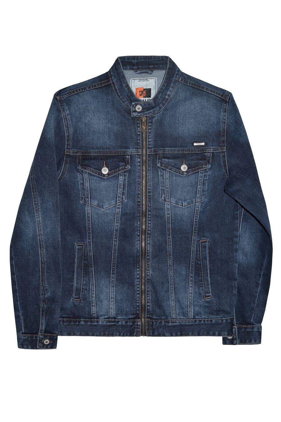 Пиджак мужской (джинсовка) Pagalee P8031 - фото 1